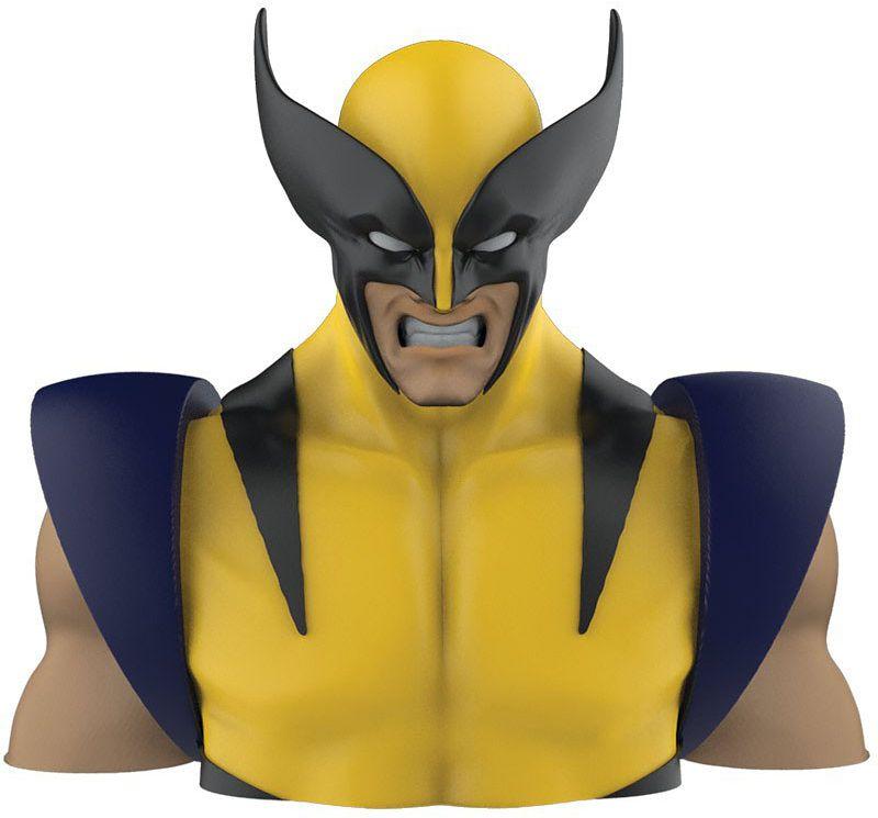 Копилка WolverineКопилка Wolverine создана по мотивам фантастической серии комиксов компании Marvel и выполнена в виде супергероя Росомахи.<br>