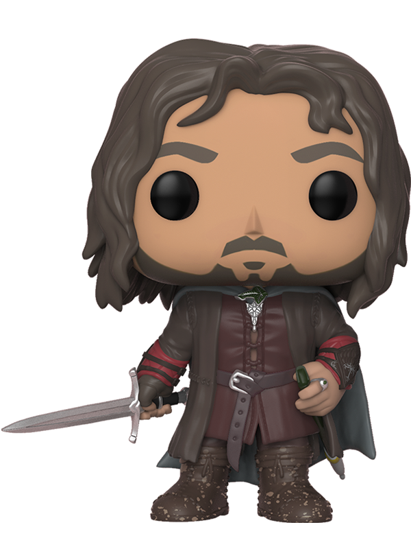 Фигурка Lord Of The Rings Funko POP Movies: Aragorn (9,5 см) чехол для iphone 6 глянцевый printio the lord of the rings lotr властелин колец