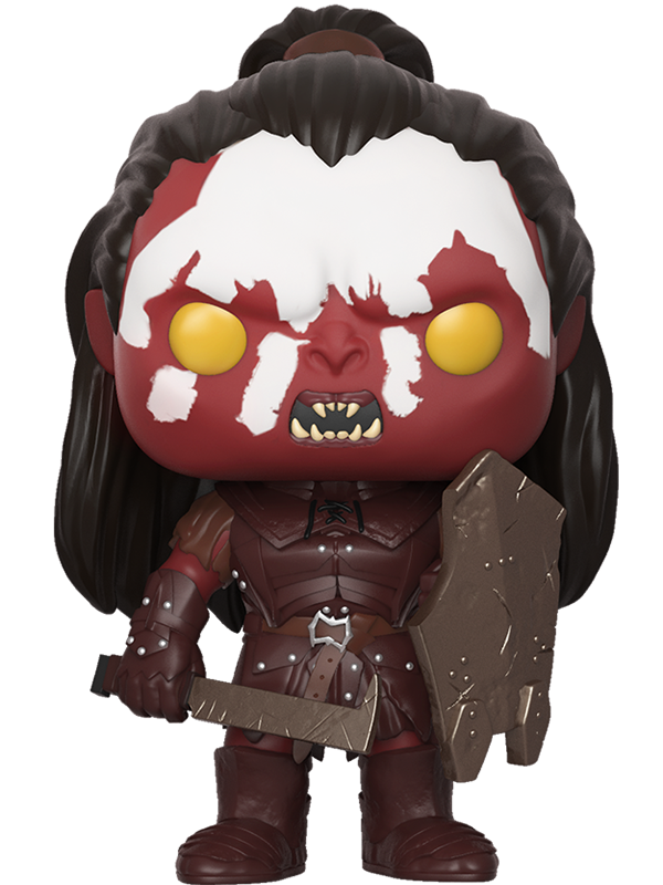 Фигурка Lord Of The Rings Funko POP Movies: Lurtz (9,5 см) чехол для iphone 6 глянцевый printio the lord of the rings lotr властелин колец