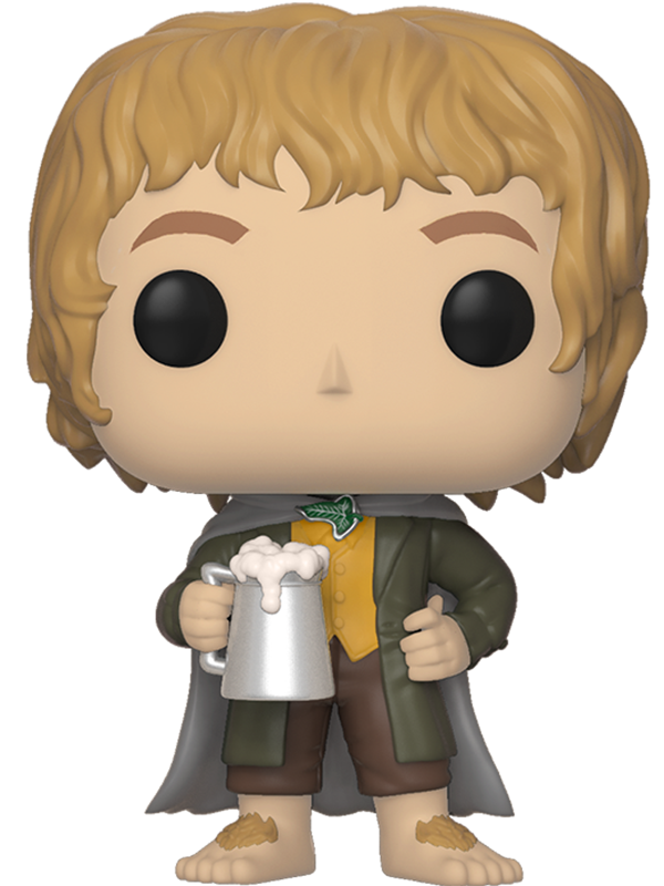 Фигурка Lord Of The Rings Funko POP Movies: Merry Brandybuck (9,5 см) гобелен 180х145 printio the lord of the rings lotr властелин колец