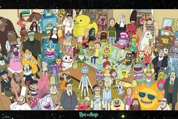 Плакат Rick And Morty: CastПлакат Rick And Morty: Cast создан по мотивам фильма ужасов режиссёра Андреса Мускетти «Оно», вышедшего на экраны в 2017 году.<br>