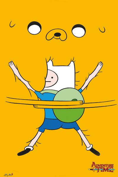 Плакат Adventure Time: Bro HugПлакат Adventure Time: Bro Hug создан по мотивам популярного мультсериала «Время приключений».<br>