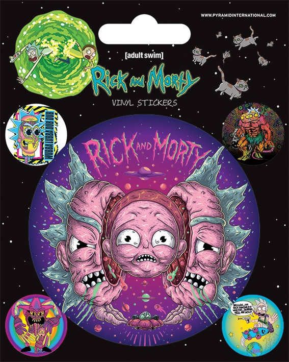 Набор стикеров Rick And Morty: Psychedelic Visions набор даббингов wapsi sow and scud dubbing 2