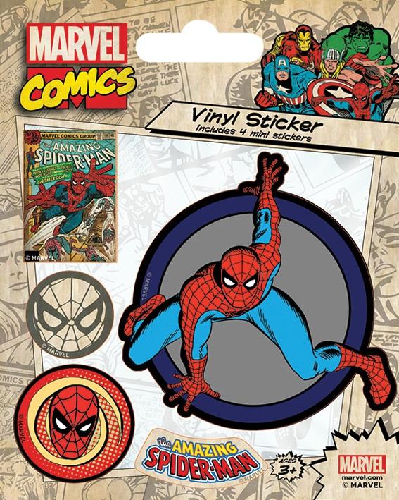 все цены на Набор стикеров Marvel Comics: Spider-Man Retro