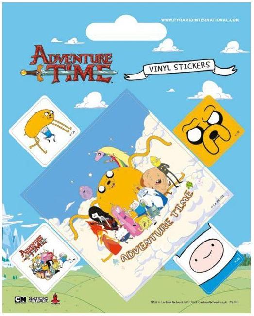 Набор стикеров Adventure TimeНабор стикеров Adventure Time выполнен в стилистике одного из самых популярных мультсериалов Adventure Time (Время Приключений с Финном и Джейком).<br>