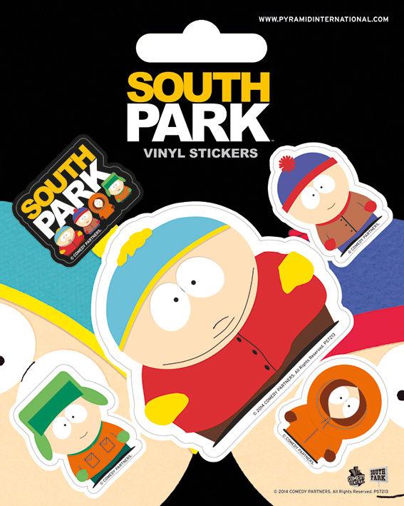 Набор стикеров South Park южный парк