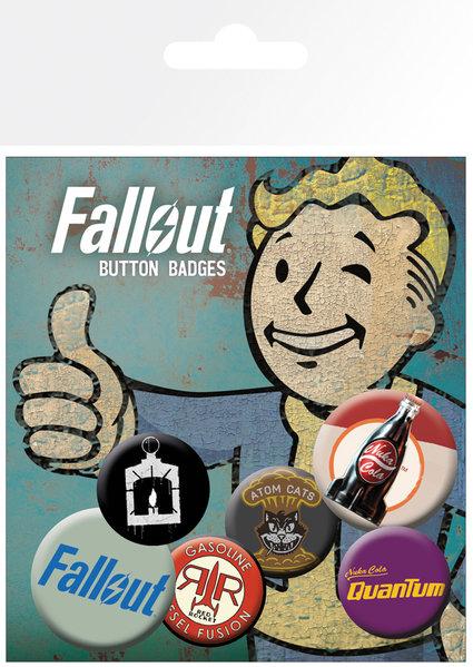 цена на Набор значков Fallout: Mix 2