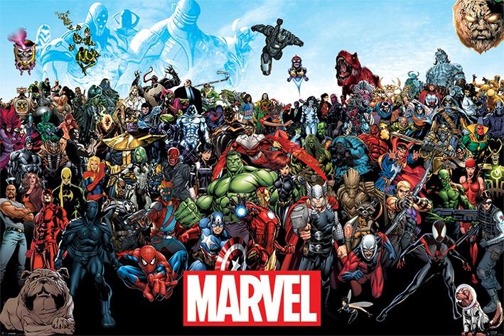 Плакат Marvel Universe marvel comics marvel universe avengers earth s mightiest heroes volume 3