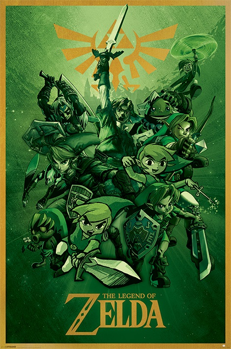 Плакат The Legend Of Zelda: Link the common link