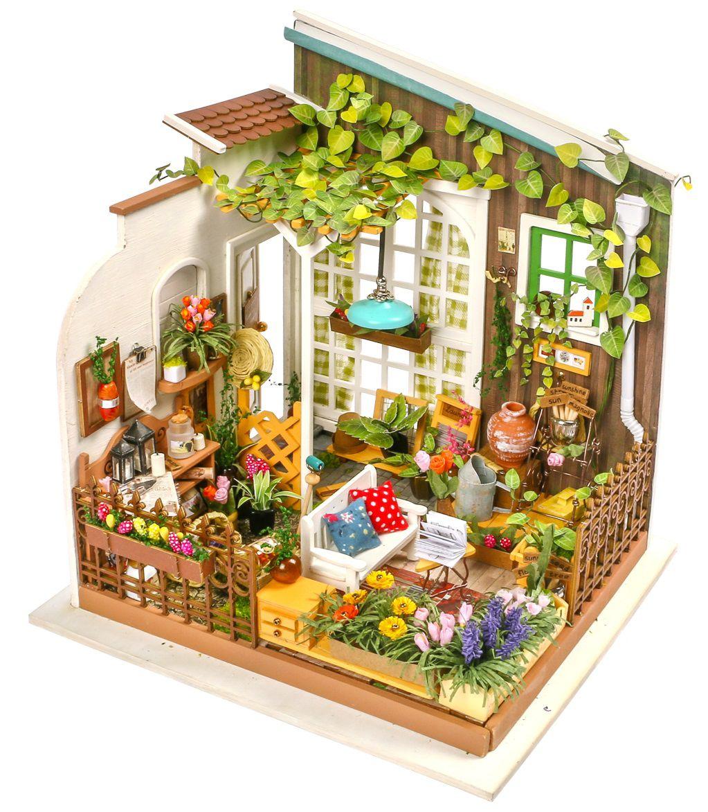 Конструктор Интерьер в миниатюре: Летняя веранда