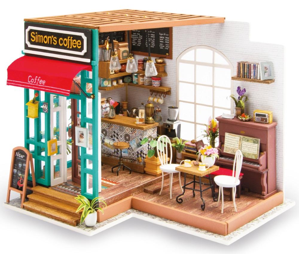 Конструктор Интерьер в миниатюре: Кофейня фото