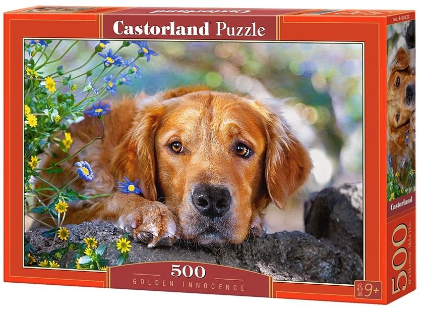 Puzzle-500: Рыжий пёс (Golden Innocence)