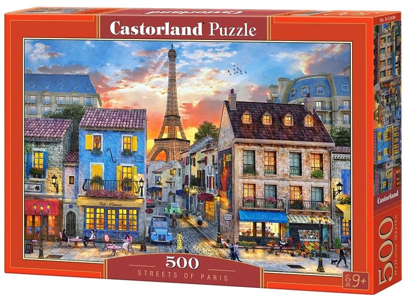 Puzzle-500: Улицы Парижа (Streets of Paris)
