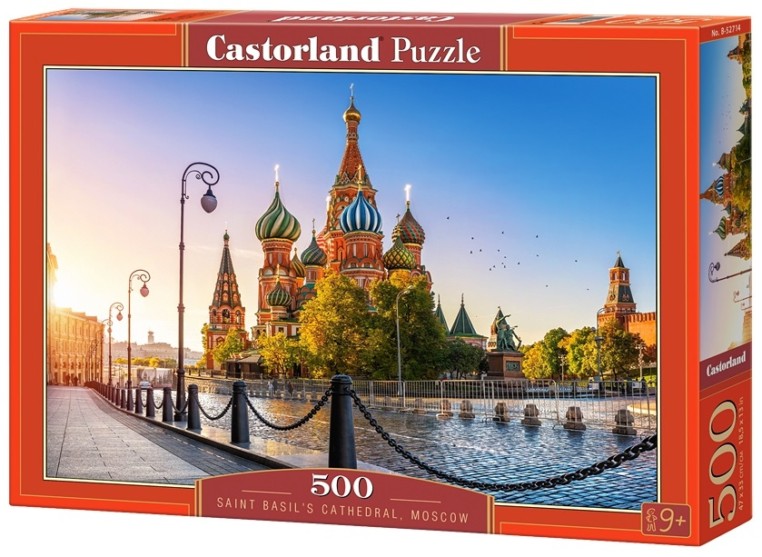 Puzzle-500: Собор Василия Блаженного (Saint Basil's Cathedral, Moscow)