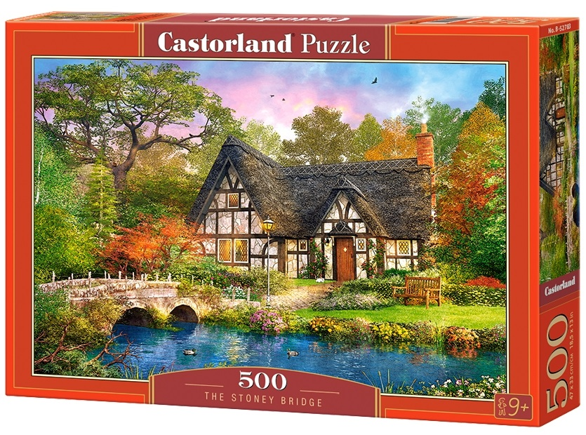 Puzzle-500: Дом у моста (The Stoney Bridge) puzzle 500 норвегия олесунн кб500 7922