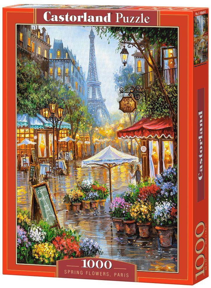 Puzzle-500: Весенние цветы (Spring Flowers, Paris)