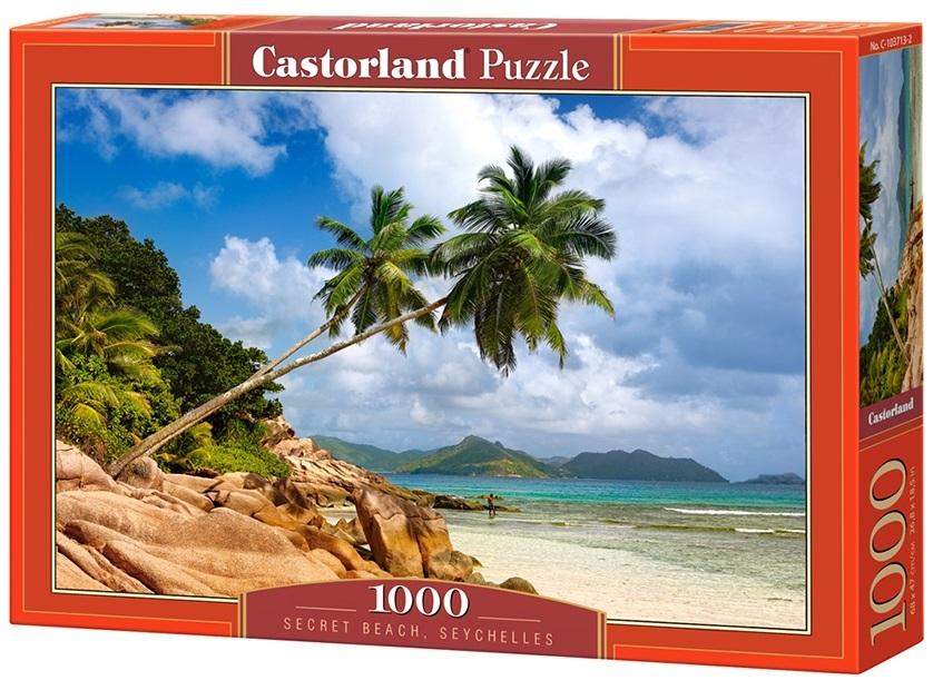 Puzzle-500: Тайский пляж, Сейшелы (Secret Beach, Seychelles)