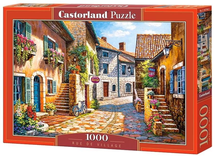 Puzzle-500: Деревенская улица (Rue de Village)