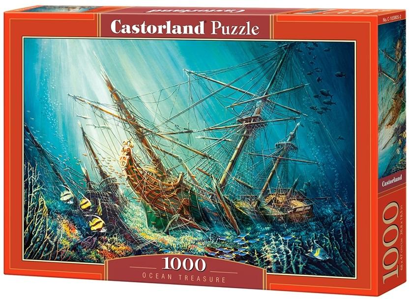 Puzzle-500: Морское сокровище (Ocean Treasure)