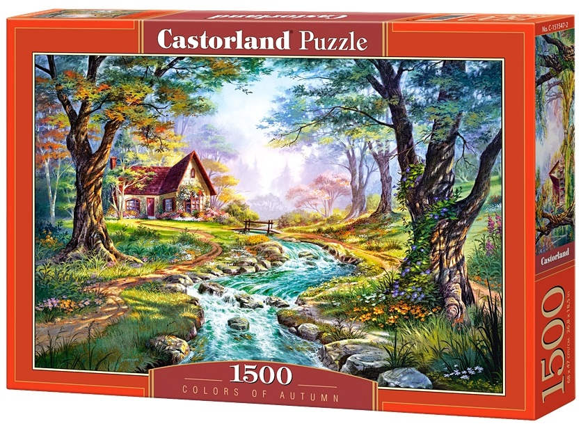 Puzzle-500: Цвета осени (Colors of Autumn)Соберите пазл Цвета осени, состоящий из 1500 элементов, и насладитесь яркими и сочными красками картины, которая подарит вам и окружающим прекрасные эмоции.<br>