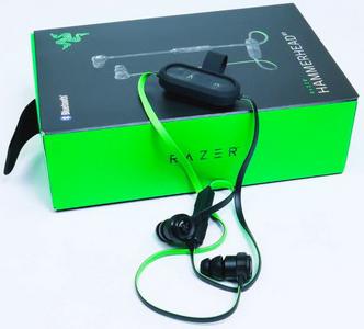Гарнитура Razer Hammerhead BT (Bluetooth) беспроводная для iOS / AndroidДлительное наслаждение чистым звуком без пут с беспроводными вставными наушниками Razer Hammerhead BT. Благодаря вручную настроенным 10-мм динамикам, впечатляющему времени работы аккумулятора, а также совместимому с iOS и Android пульту управления на проводе с микрофоном, вы можете брать с собой эти прочные вставные наушники всюду, куда вас забросит жизнь.<br>