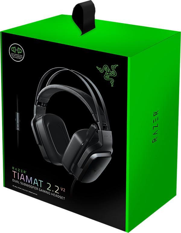 Гарнитура Razer Tiamat 2.2 V2 для PCХотите услышать грохот в джунглях и воспроизводить самые глубокие басы? Выбирайте Razer Tiamat 2.2 V2!<br>