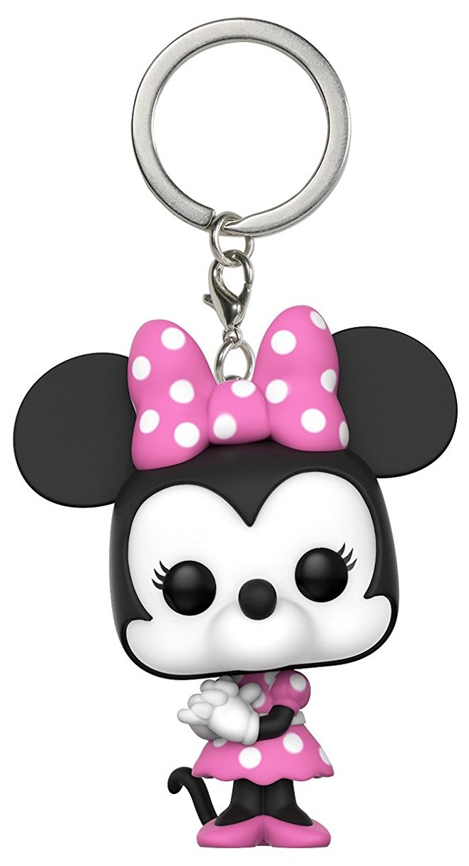 Брелок Disney Funko POP: Minnie Mouse disney toddler girl s minnie mouse pink socktop slipper