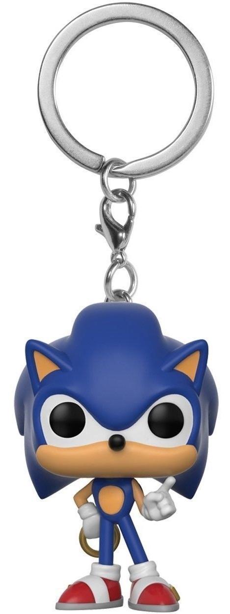 Брелок Funko POP Games: Sonic w/ RIngБрелок Sonic with Ring, вополщающий собой ненунывающего Ежа Соника, главного персонажа серии видеоигр Sonic the Hedgehog от компании Sega, станет вашем мини-талисманом на все случаи жизни.<br>