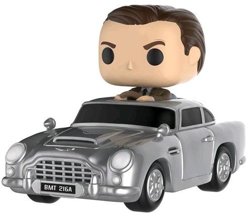 Фигурка Rides James Bond Funko POP: Aston Martin &amp; Sean Connery (9,5 см)Двойная фигурка Rides James Bond – Aston Martin &amp;amp; Sean Connery воплощает как раз самый знаменитый тандем – Джеймса Бонда (Шон Коннерии) и его железного коня – Aston Martin DB5.<br>
