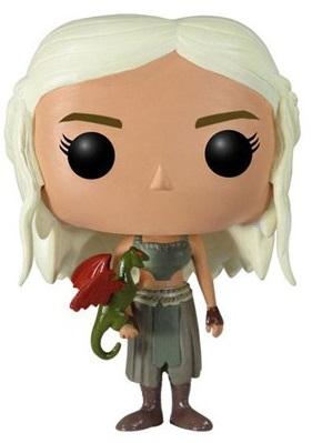 Фигурка Game of Thrones POP Television: Daenerys Targaryen (9,5 см) фигурка funko pop television stranger things hopper 9 5 см