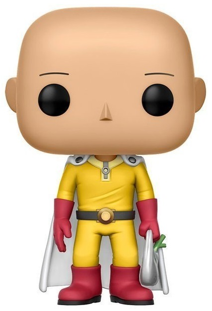 Фигурка Funko POP Animation: One Punch Man – Saitama (9,5 см) anime one punch man oppai saitama student schoolbag casual oxford shoulders bag backpack computer bags
