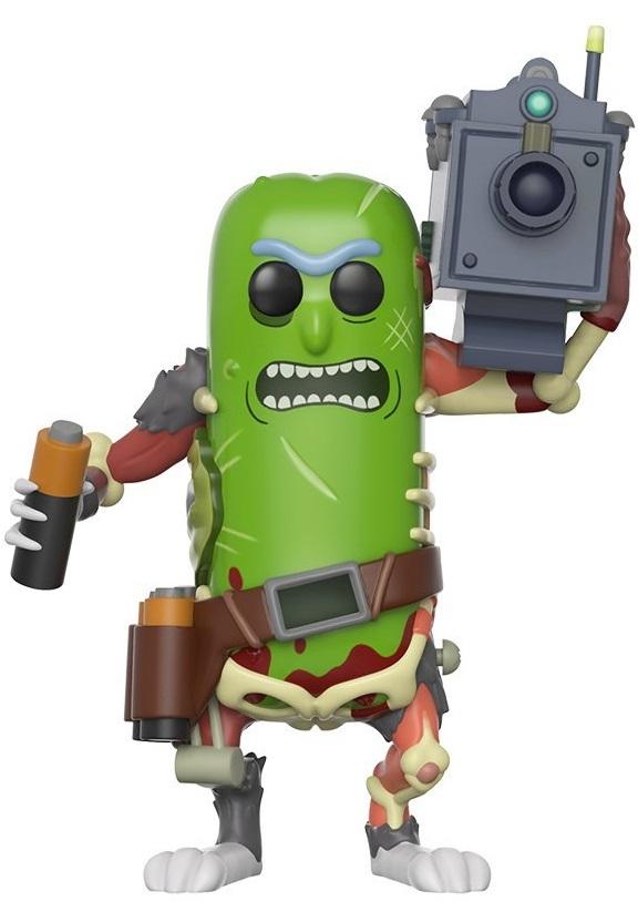 Фигурка Rick And Morty Funko POP Animation: Pickle Rick With Laser (9,5 см)Фигурка POP Animation Rick And Morty: Pickle Rick With Laser воплощает собой одну из альтернативных версий Рика Санчеза – Огурчика Рика. Он специально превратил себя в огурец, чтобы избежать семейной терапии.<br>