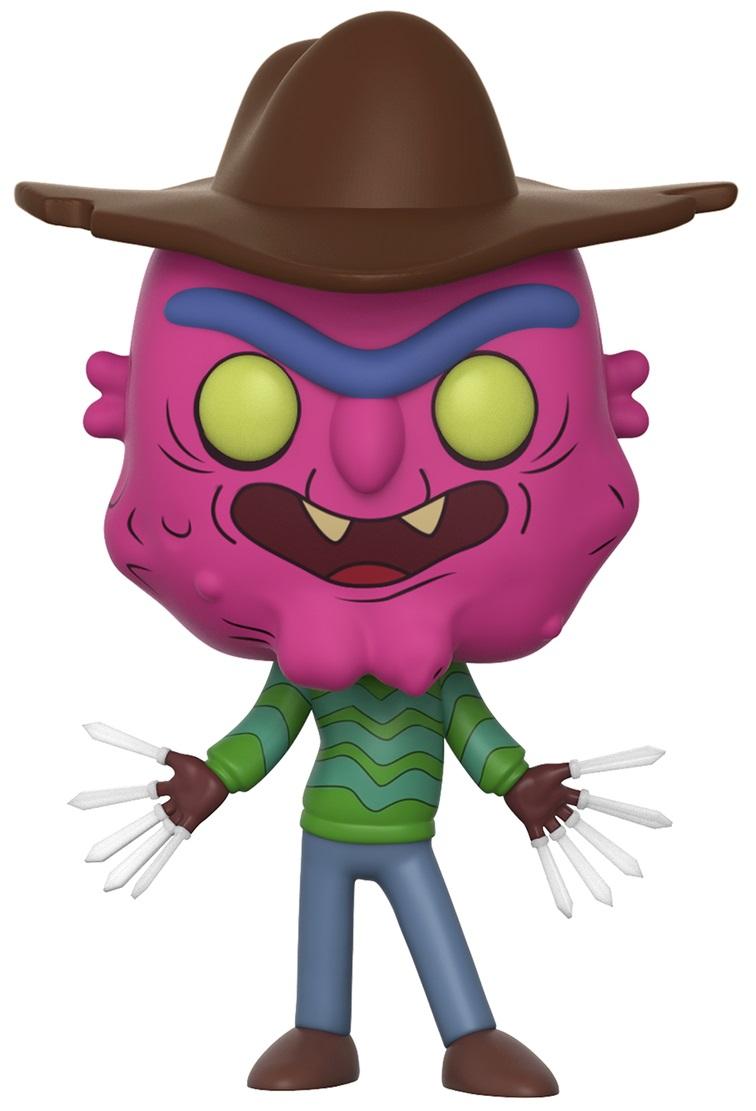 Фигурка Rick And Morty Funko POP Animation: Scary Terry (9,5 см) фигурка funko pop animation one piece portgas d ace 9 5 см