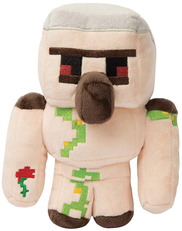 Мягкая игрушка Minecraft: Happy Explorer Iron Golem (18 см) малышарики мягкая игрушка собака бассет хаунд 23 см