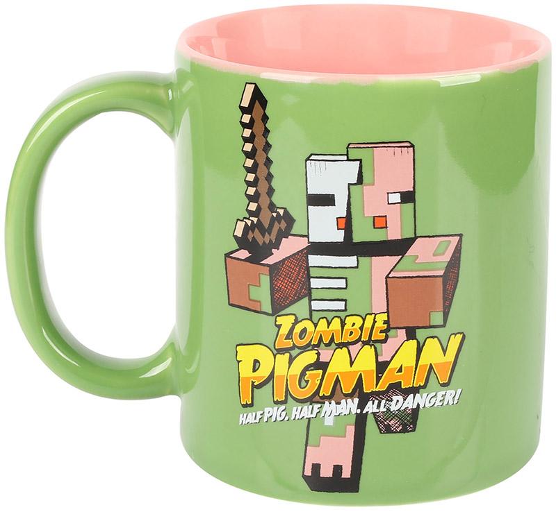 Кружка керамическая Minecraft: Zombie Pigman (330 мл) фигурка minecraft adventure zombie pigman 10 см