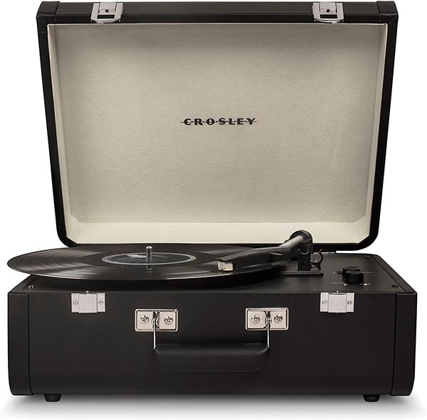 Виниловый проигрыватель Crosley Portfolio Portable CR6252A-BR c Bluetooth проигрыватель crosley executive cr6019d bk