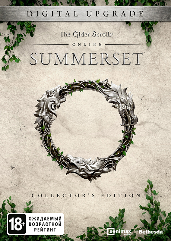 The Elder Scrolls Online: Summerset. Digital Collector's Edition Upgrade (для серверов TESO) [PC, Цифровая версия] (Цифровая версия) the elder scrolls v skyrim special edition [pc цифровая версия] цифровая версия