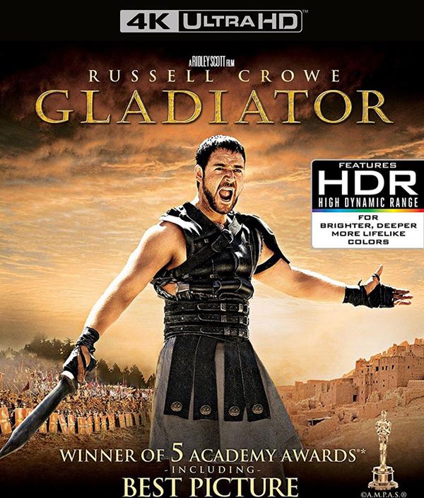 Гладиатор. Колекционное издание (Blu-ray 4K Ultra HD) Gladiator
