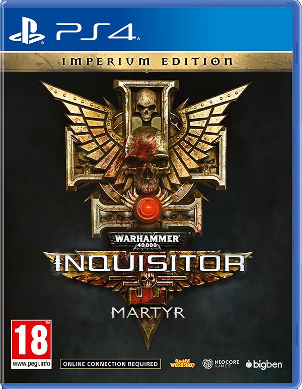 Warhammer 40,000: Inquisitor – Martyr. Imperium Edition [PS4] джон дэвисон рокфеллер как я нажил 500 000 000 мемуары миллиардера