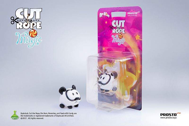 Фигурка Cut The Rope Magic: Панда (3.5 см) limpopo папка картонная cut the rope