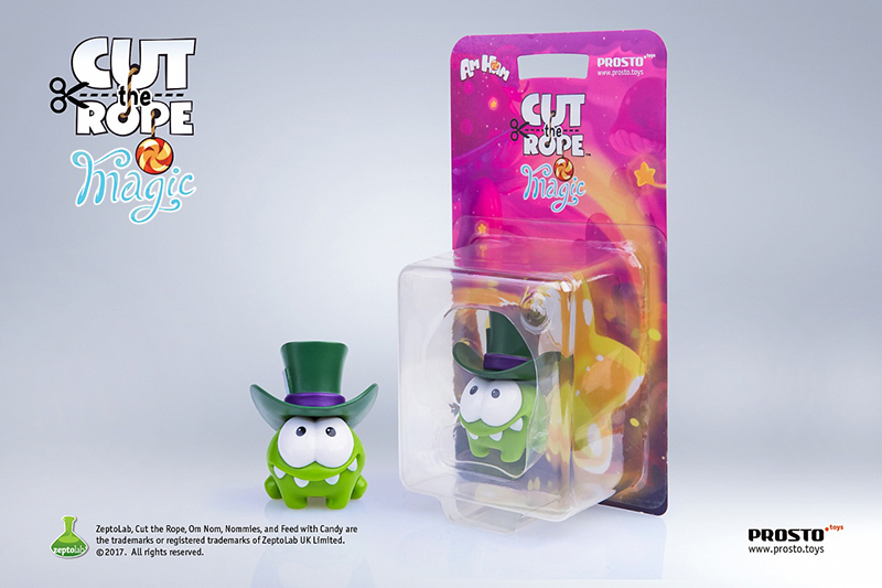 Фигурка Cut The Rope Magic: Фокусник (5.5 см) ледянка 92см cut the rope 1toy