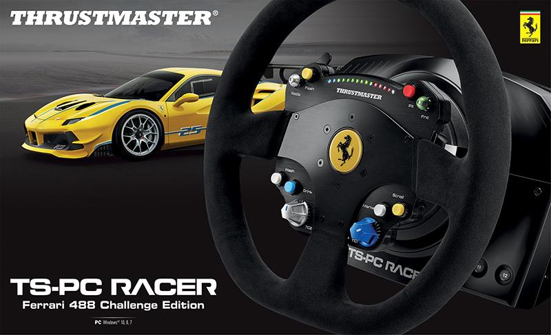 Руль Thrustmaster TS-PC Racer Ferrari 488 Challenge для PC