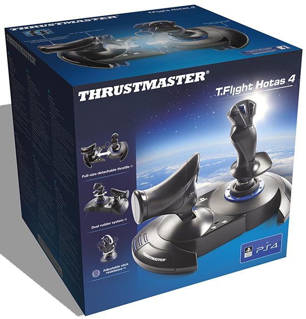 все цены на Джойстик Thrustmaster T-Flight Hotas 4 official EMEA для PS4 / PC онлайн