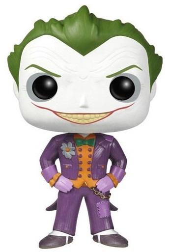 Фигурка Batman Arkham Asylum Funko POP: Joker (9,5 см) batman volume 2 joker s asylum