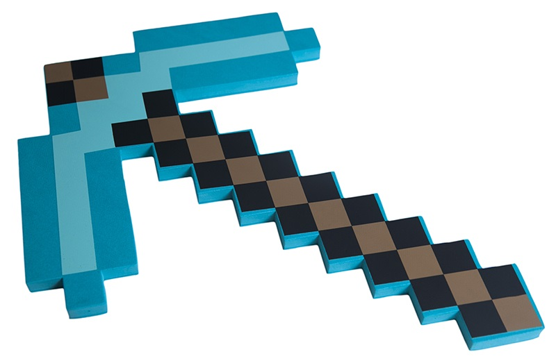 gold pickaxe minecraft - HD