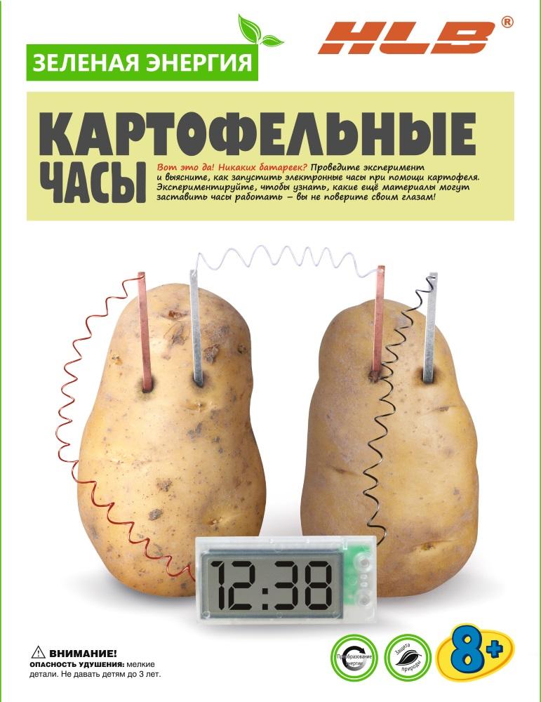 Набор Зеленая энергия: Картофельные часы