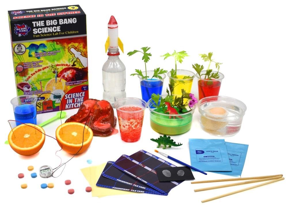 Набор научный Научные эксперименты на кухне