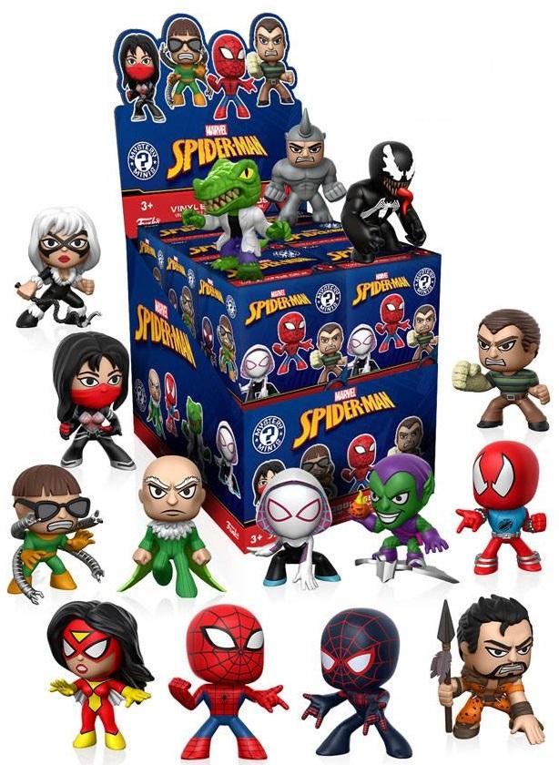 Фигурка Marvel Spider-Man Classic: Mystery Minis Blind Box (1 шт. в ассортименте) рюкзаки spider man classic мешок для обуви spider man classic