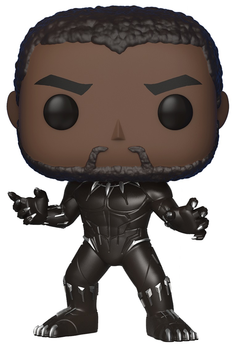 Фигурка Funko POP Marvel: Black Panther – Black Panther Bobble-Head (9,5 см) цена