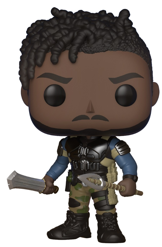 Фигурка Marvel Black Panther Funko POP: Erik Killmonger Bobble-Head (9,5 см) фигурка marvel black panther funko pop black panther bobble head 9 5 см